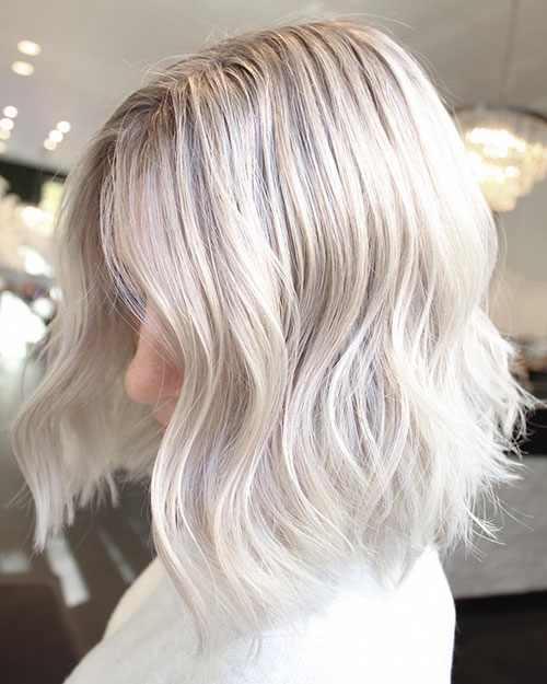 Platinum Medium Hair