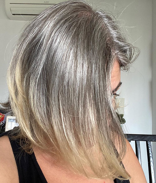 Medium Hair Over 40
