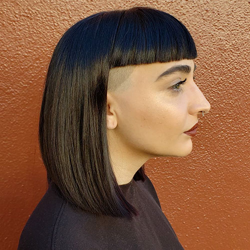 Medium Long Haircuts With Bangs