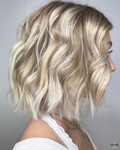 Medium Haircuts Blonde