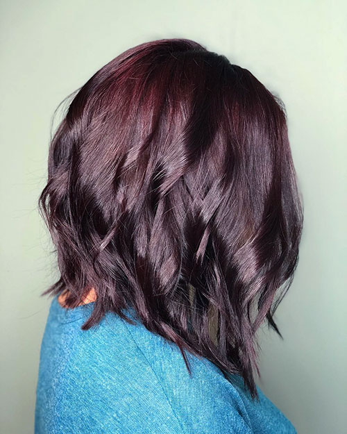 Medium Lob Hair