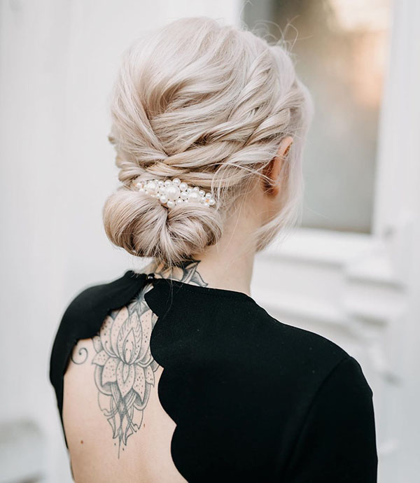 Images Of Updo Hairstyles For Medium Hair