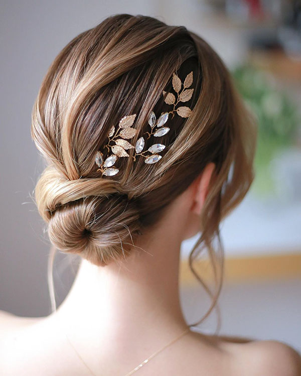 Bun Hair Pictures For Medium Length Hair
