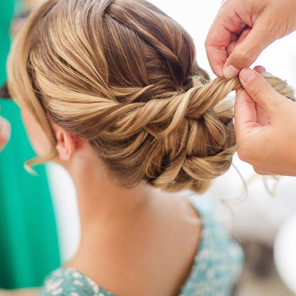 Easy Medium Updo Hairstyles