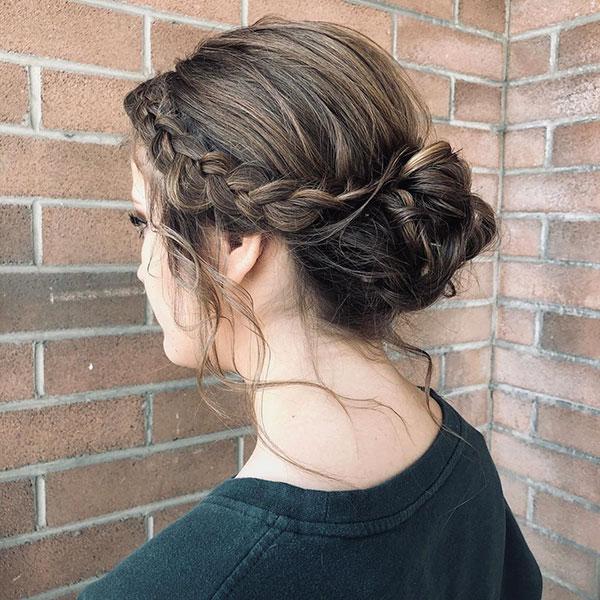 Updo Ideas For Medium Hair