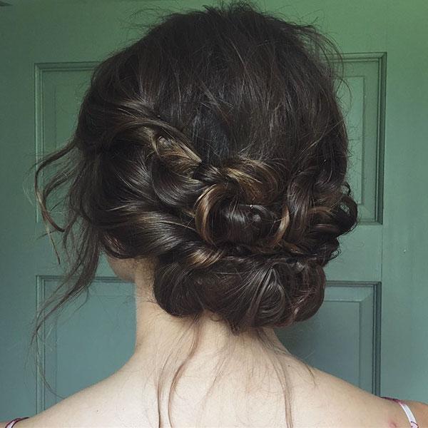 Medium Hair Bun