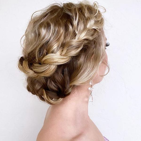 Updo Pics For Medium Hair