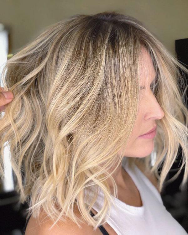 Choppy Hairstyles For Medium Hair