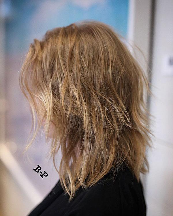 Haircuts For Medium Choppy Hair