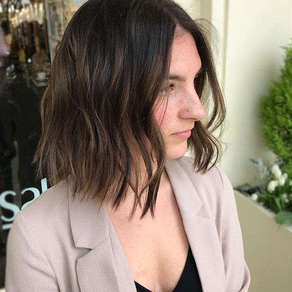 Medium Haircut Ideas For Choppy Hair
