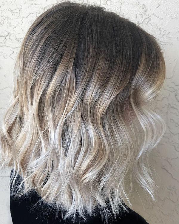 Choppy Medium Haircuts