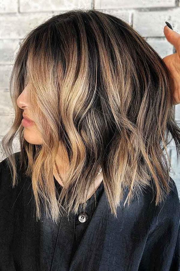 Medium Choppy Haircuts 2020