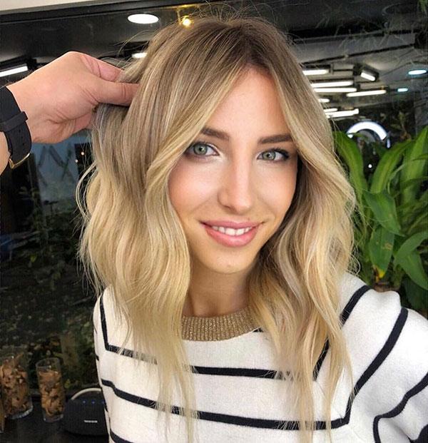 Hairstyles For Medium Blonde Hair
