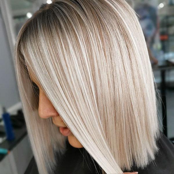 Medium Blonde Hairstyles 2020