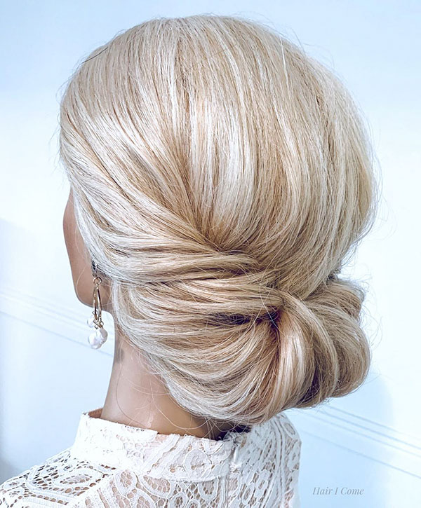 Images Of Medium Bun Hair