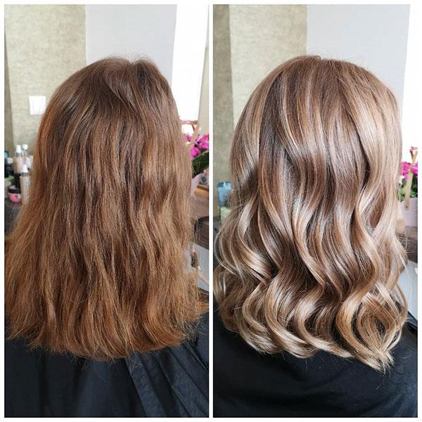 Hairstyles For Medium Wavy Hair
