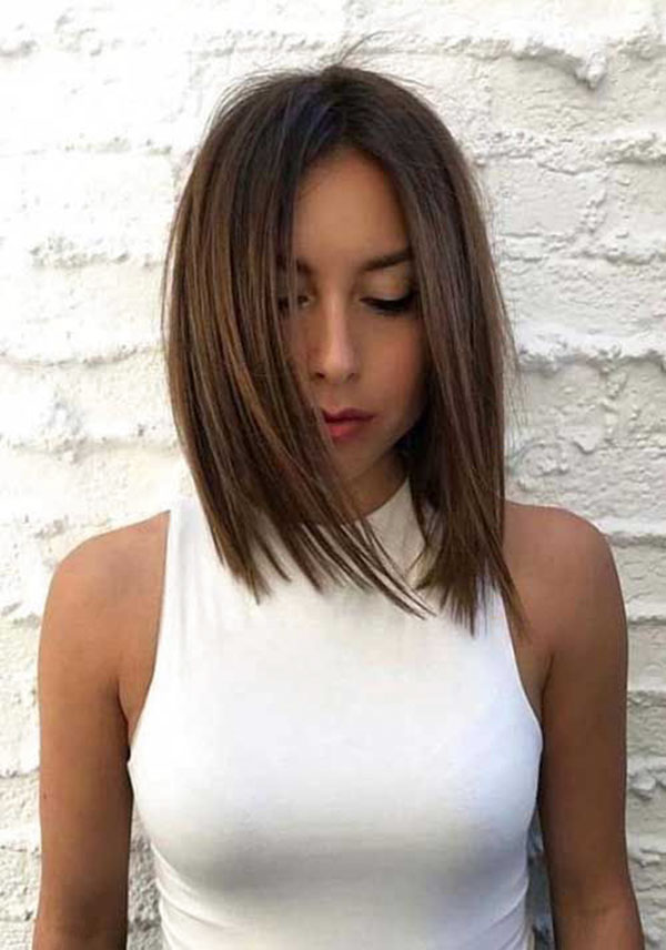 Sleek Medium Hairstyles
