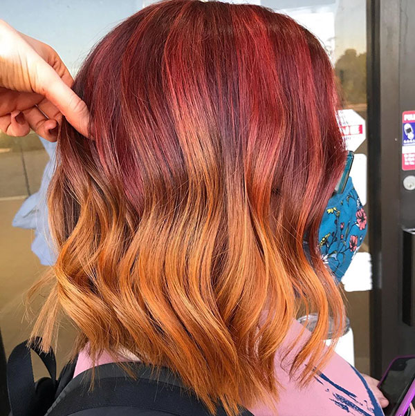 Medium Hair Color Images