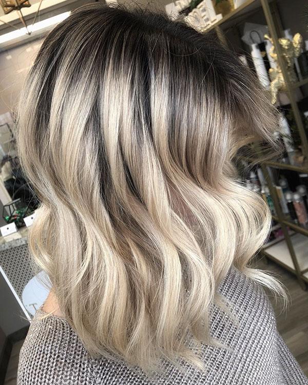 Medium Blonde Haircuts