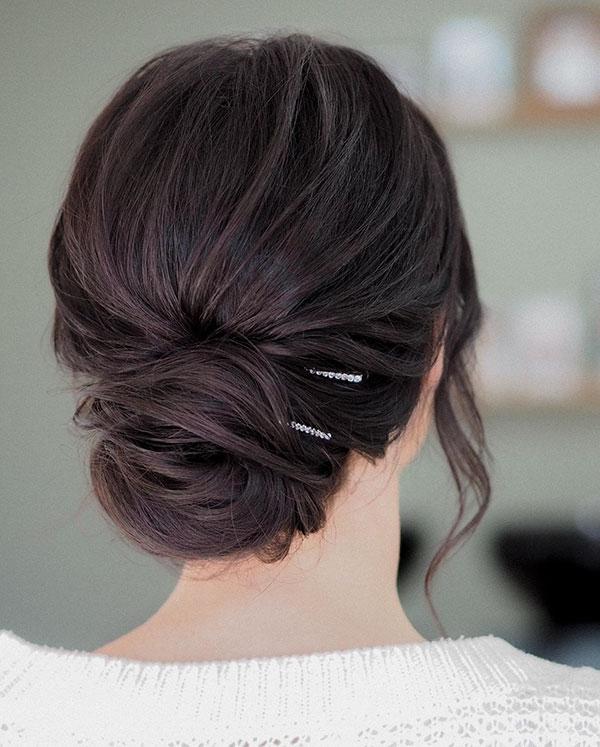 Perfect Bun For Medium Hair