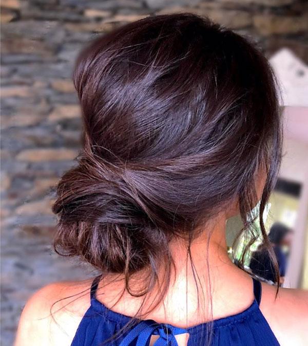 Medium Bun Hairstyles