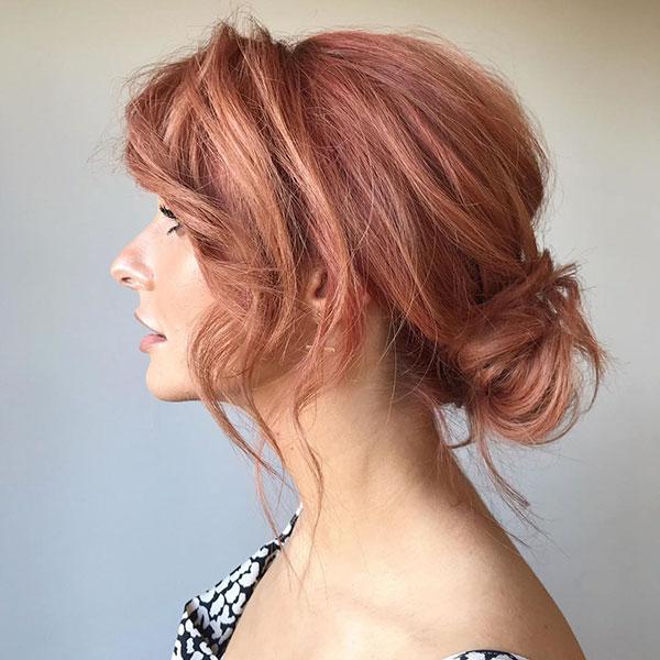 Classic Bun For Medium Hair