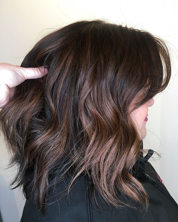 Medium Hairstyle Pictures For Thin Hair