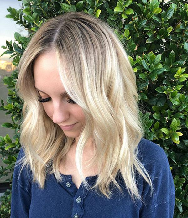 Simple Medium Hairstyles