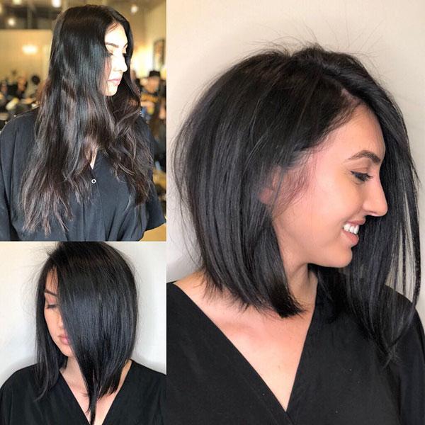 Thin Hair And Medium Haircut