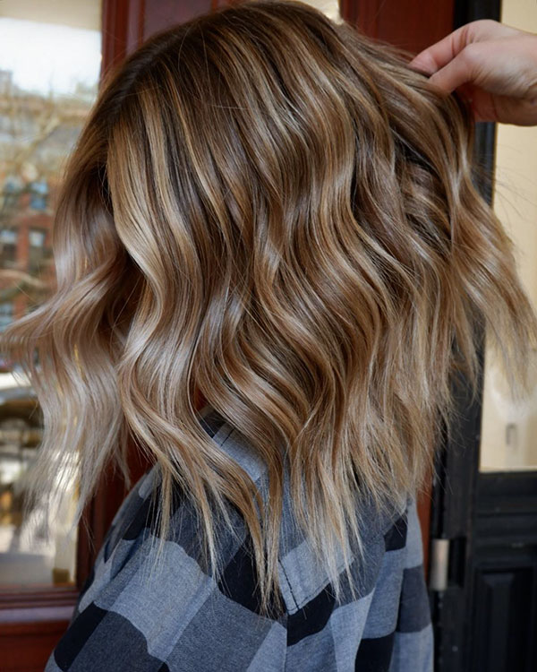 Haircuts For Romantic Medium Hair