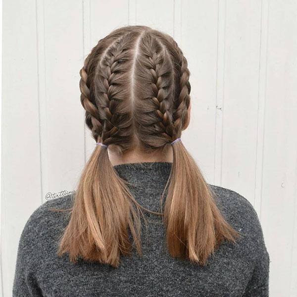 Simple Medium Hair Pictures