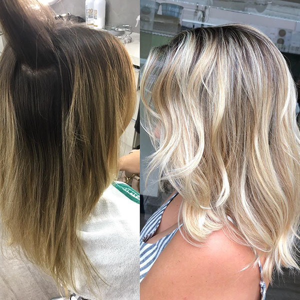 Medium Hairstyles With Balayage