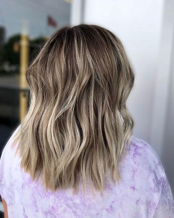Simple Medium Haircuts