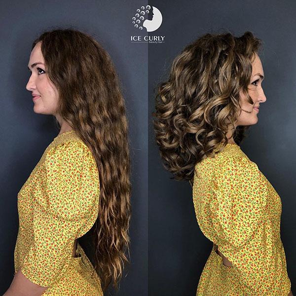 Medium Curly Hair Pictures