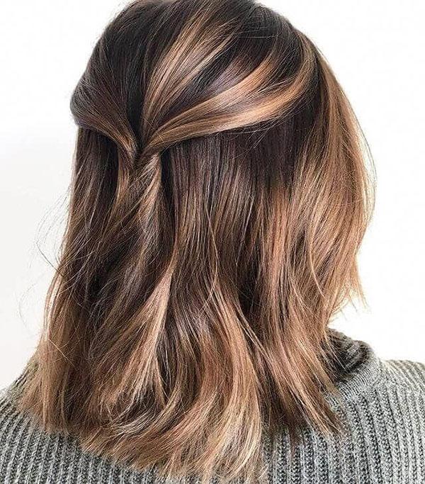 Medium Brown Balayage Hairstyles