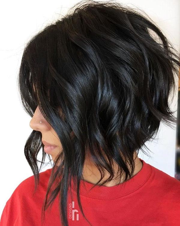 Choppy Medium Length Haircuts For Thick Hair