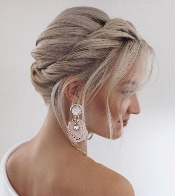 Medium Bridal Hairstyle Pictures