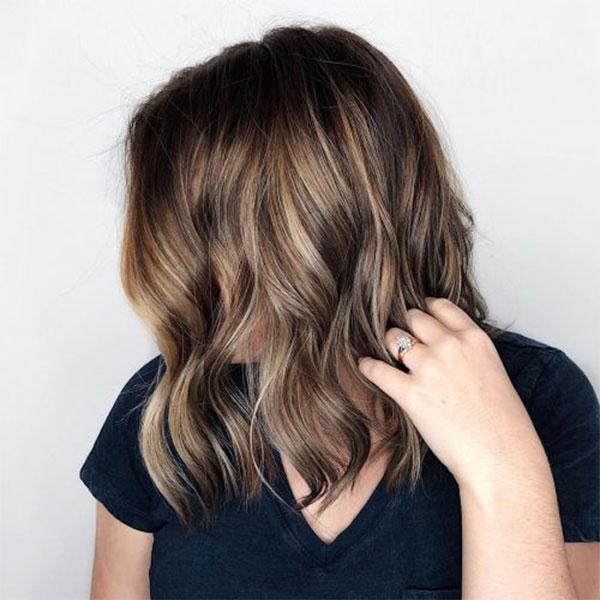 Balayage For Medium Brown Hair