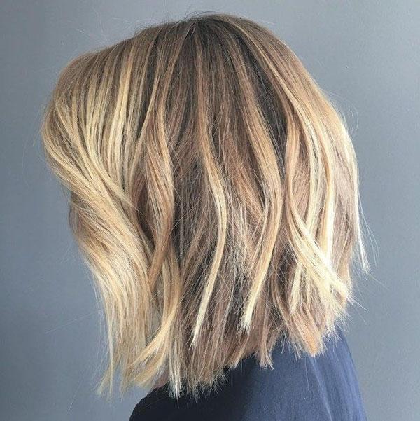 Layered Medium Haircuts For Thick Hair