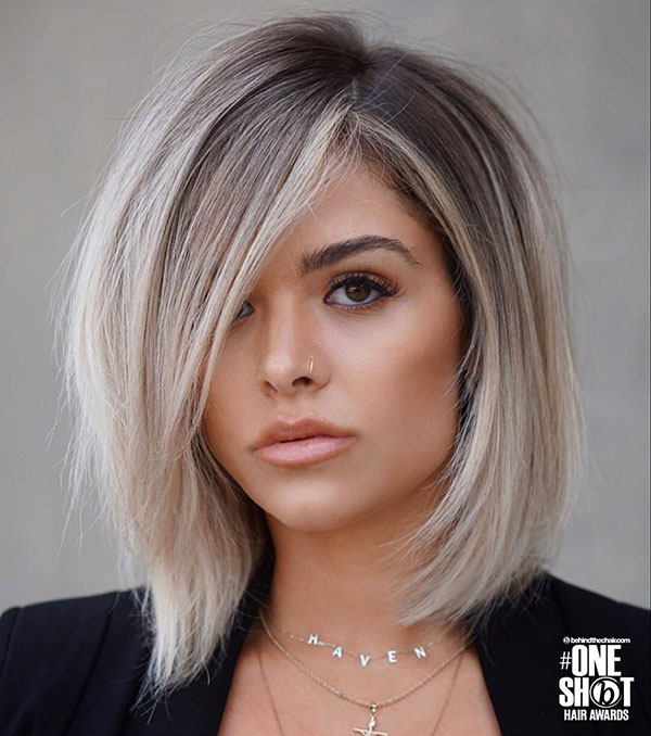 Straight Hairstyles For Medium Thick Hair