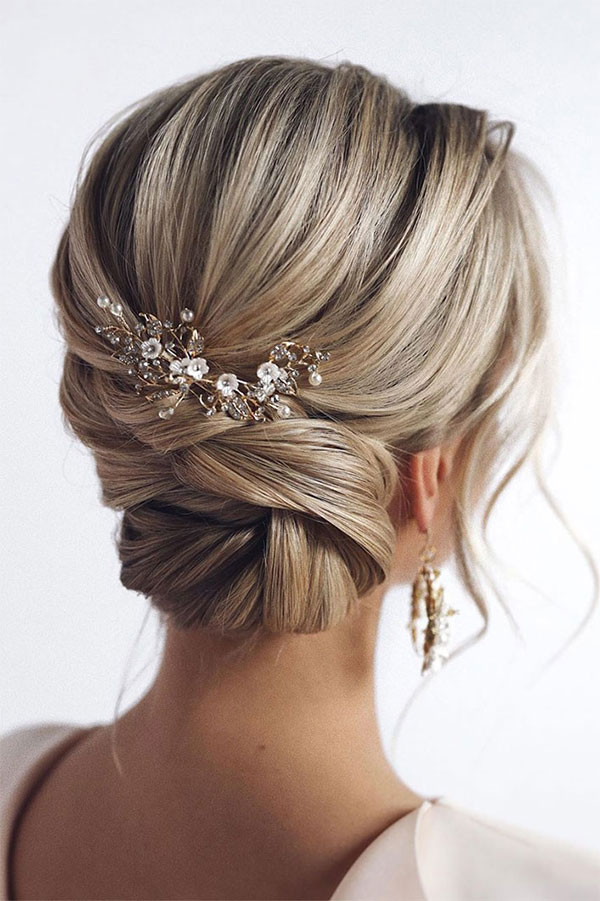 Medium Bridal Hair Examples