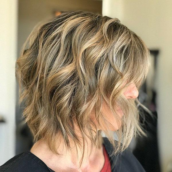 Medium Choppy Haircuts For Thick Hair