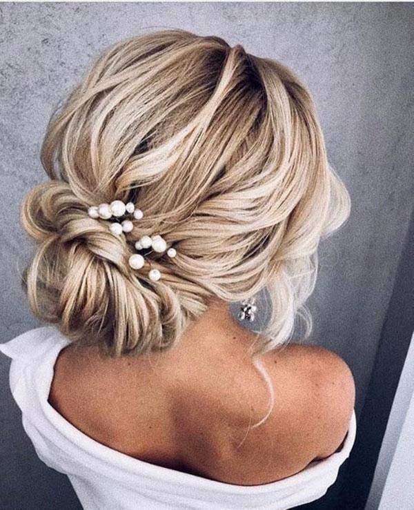 Medium Bridal Hairstyles 2021