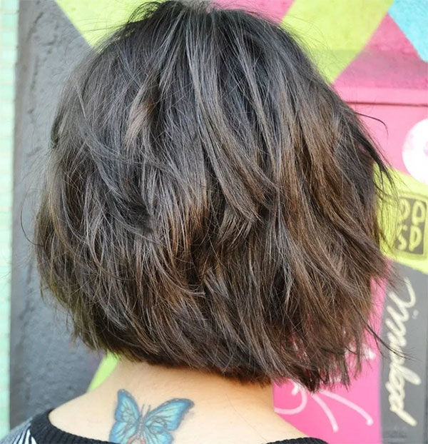 Medium Layered Haircuts For Thick Hair Women
