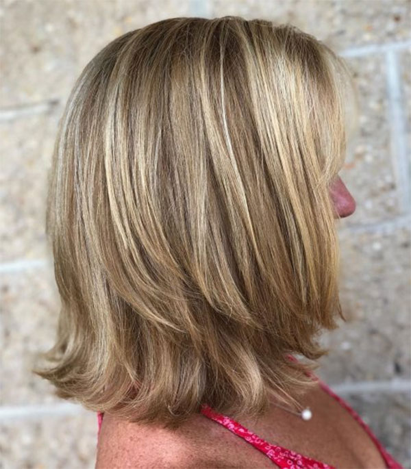 Medium Hairstyles For Over 50 Women