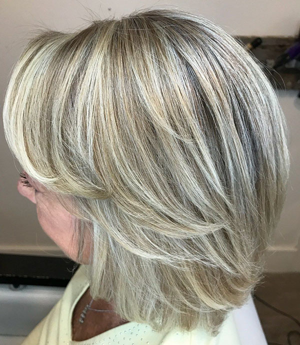 Medium Layered Cuts For Thick Hair