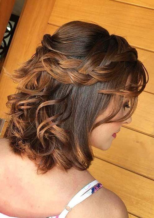 Easy Half Up Hairstyles For Medium Hair