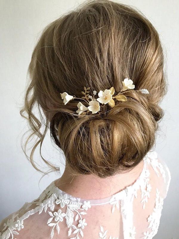 Bridal Hair Styles For Medium Hair