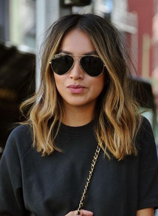Medium Brown Balayage Hair Pictures