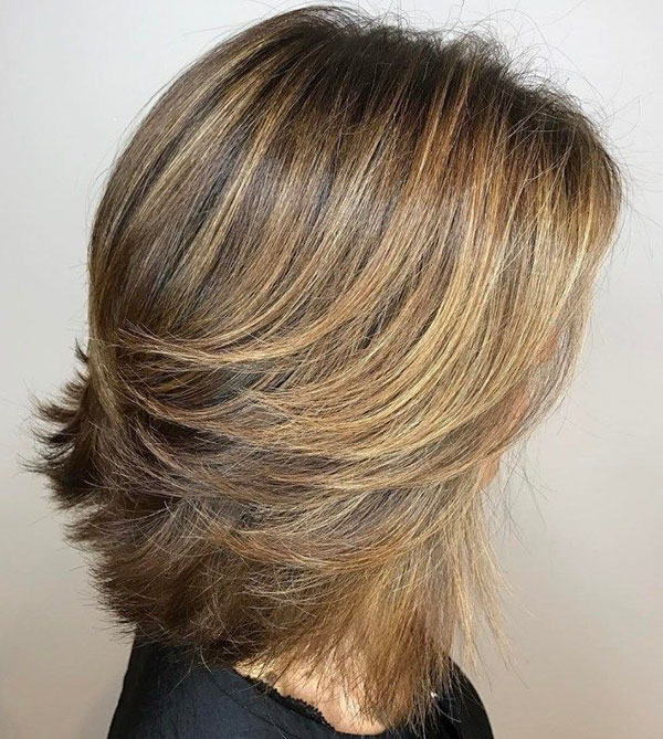 Hairstyles For Over 50 Medium Length